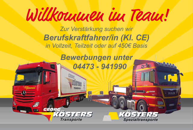 stellenangebote k hltransporte fleischtransport lebensmitteltransporte spedition f r. Black Bedroom Furniture Sets. Home Design Ideas